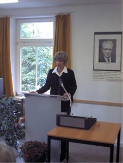 Oberbürgermeisterin Babara Ludiwig spricht